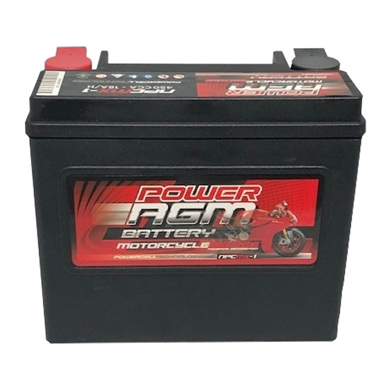 Power AGM Motorbike Battery NPC-MX-1