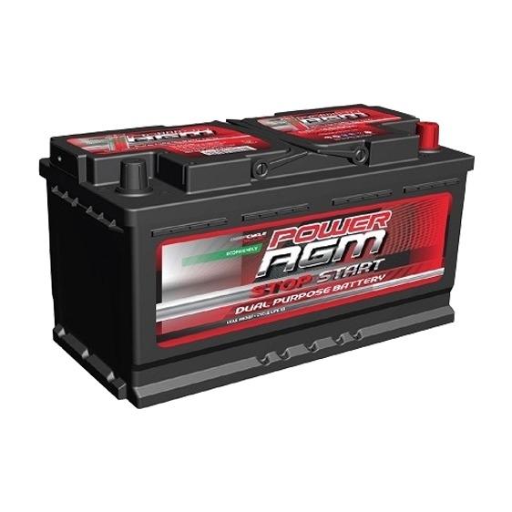 Power AGM Stop Start Battery NPC iSS100H