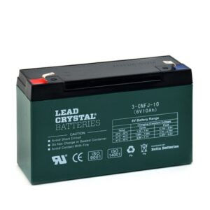 Lead Crystal 3-CNFJ-10 Green
