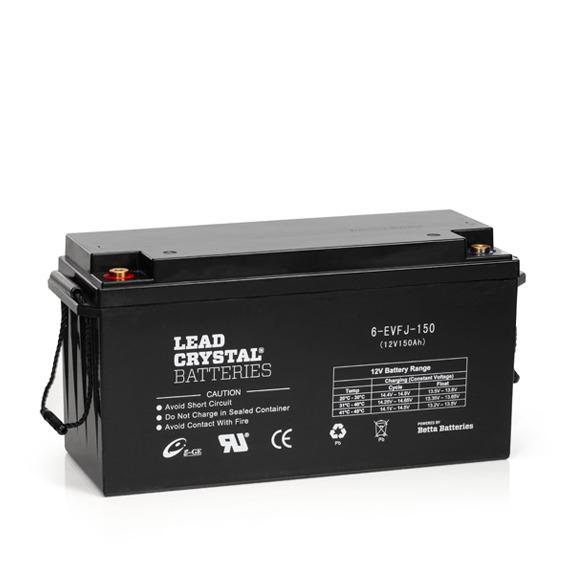Lead Crystal 6-EVFJ-150Ah