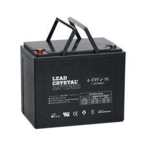 Lead Crystal 6-EVFJ-70Ah