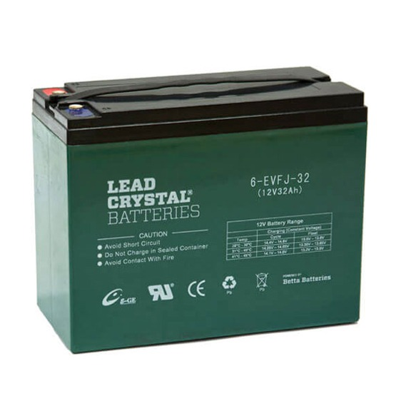 Lead Crystal 6-EVFJ-32