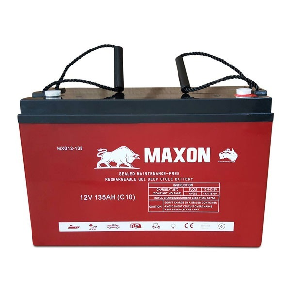 Maxon Gel Deep Cycle MXG12-135
