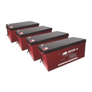 Maxon Battery Bank 220-4X