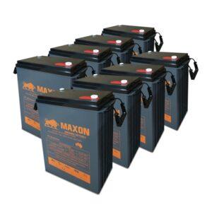 Maxon Battery Bank 365-8