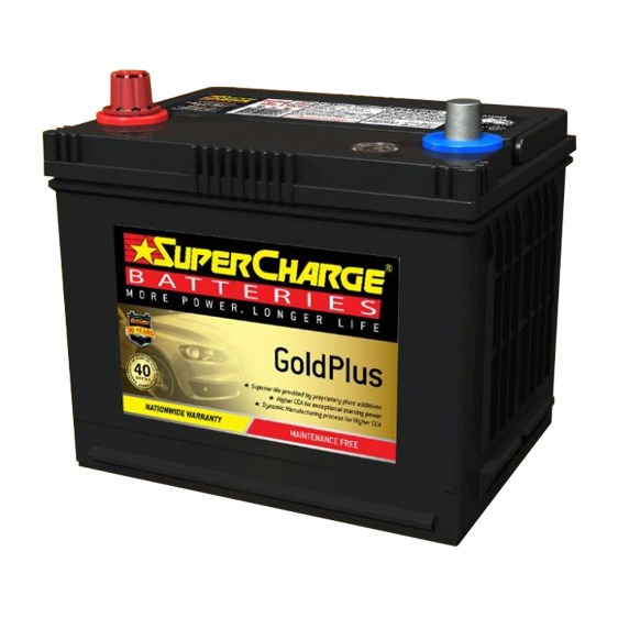 Supercharge Batteries Gold Plus MF43
