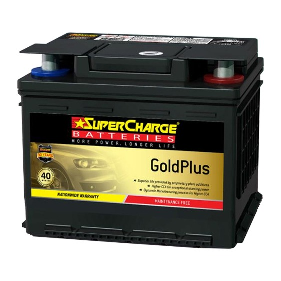 Supercharge Batteries Gold Plus MF44