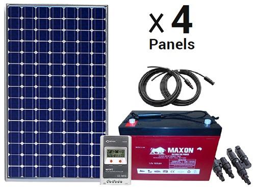Maxon 4 Panels