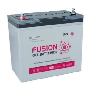 Fusion Gel Deep Cycle 12V 50Ah Battery CBG12V50AH