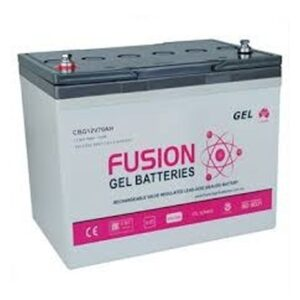 Fusion Gel Deep Cycle12V 70Ah Battery CBG12V70AH