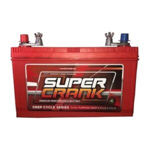 Super Crank Deep Cycle Dual Purpose MF Battery DCNX120-7