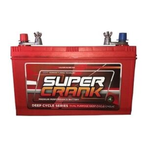 Super Crank Deep Cycle Dual Purpose MF Battery DCNX120-7L