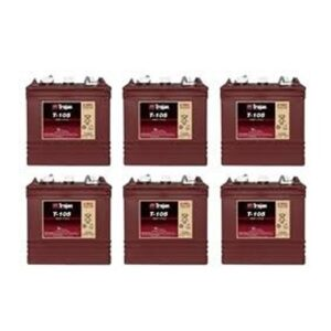 Trojan T105 Set of 6 36V Golf Cart Batteries