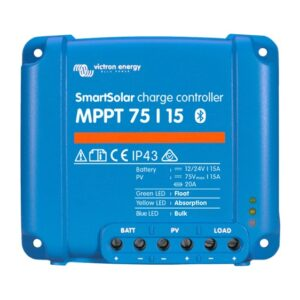Victron SmartSolar MPPT 75/15 Bluetooth Solar Controller