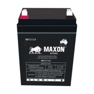 Maxon Sealed Lead Acid Battery MX12-5.0
