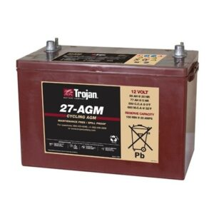 Trojan 27-AGM 12V Deep Cycle AGM Battery
