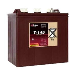 Trojan T145 6V Deep Cycle Wet Battery