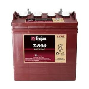 Trojan T890 8V Deep Cycle Wet Battery