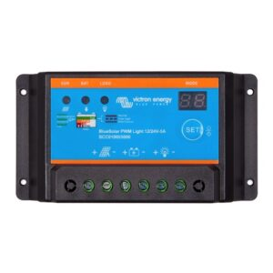 Victron BlueSolar PWM-Light Charge Controller 12/24-5A