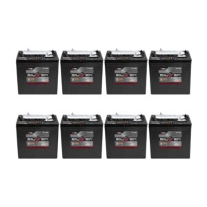 Trojan S105 Set of 6 36V Golf Cart Batteries