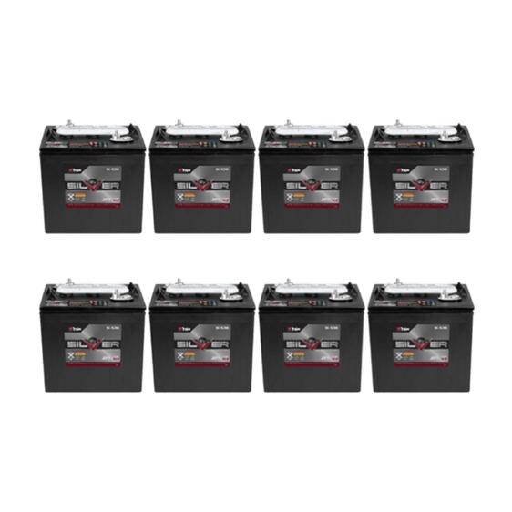 Trojan S105 Set of 6 36V Golf Cart Batteries