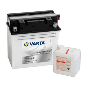 Varta Powersports Motorcycle Battery YB16CL-B