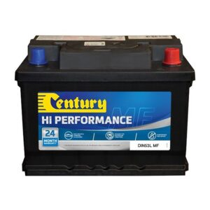 Century Hi Performance Battery DIN53L MF