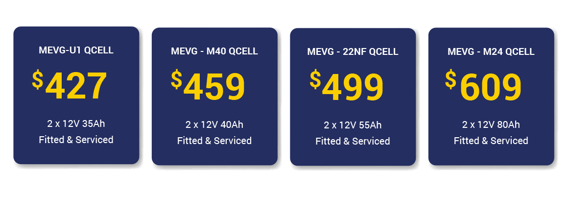 mobility battery fitting prices