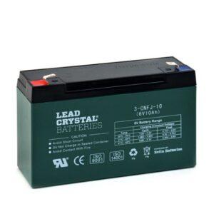 Lead Crystal 3-CNFJ-10 Green
