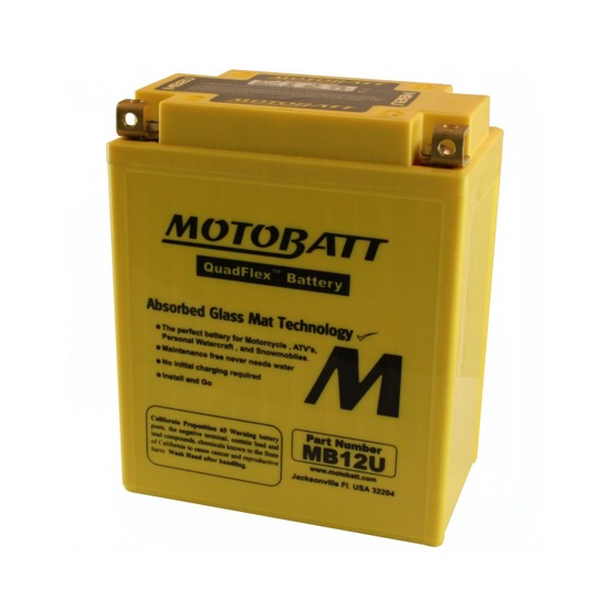 Motobatt MB12U