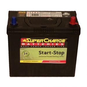 Supercharge Batteries EFB MFB24EF