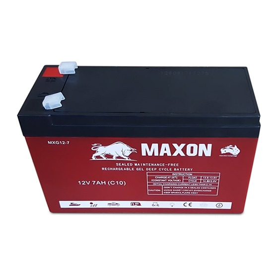 Maxon Gel Deep Cycle Battery MXG12-7