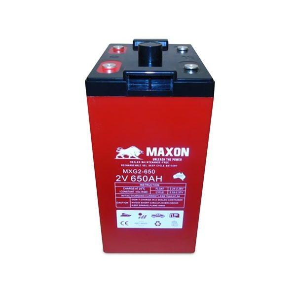 Maxon Gel Deep Cycle Battery MXG2-650