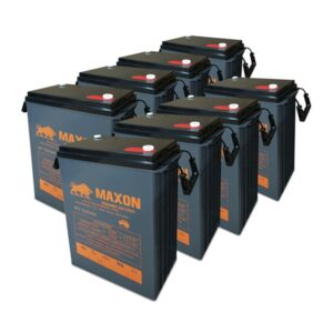 Maxon Battery Bank 220-8
