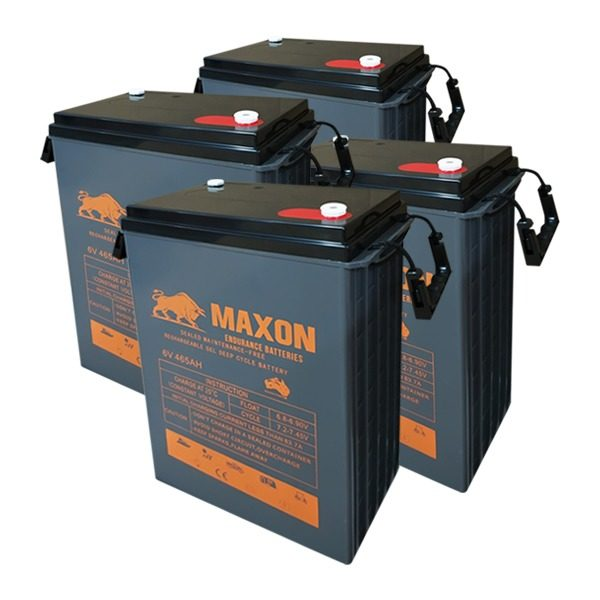 Maxon Battery Bank 465-4