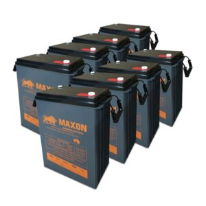 Maxon Battery Bank 465-8