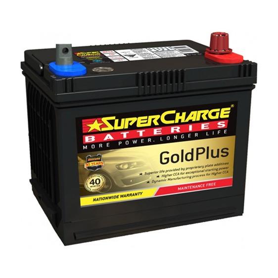 Supercharge Batteries Gold Plus MF52